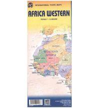 Straßenkarten International Travel Map ITM Topographische Karte Africa Western ITMB International Travel Maps
