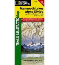 Wanderkarten Nord- und Mittelamerika National Geographic Map 809 USA - Mammoth Lakes, Mono Divide 1:63.360 Trails Illustrated