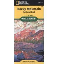 Wanderkarten Nord- und Mittelamerika Trails Illustrated Wanderkarte 200, Rocky Mountain National Park 1:50.000 Trails Illustrated