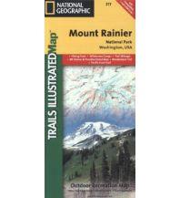 Wanderkarten Nord- und Mittelamerika Trails Illustrated Wanderkarte 217, Mount Rainier National Park 1:55.000 Trails Illustrated