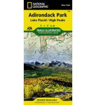 Straßenkarten 742 National Geographic Maps - Adirondack Park: Lake Placid National Geographic Society Maps
