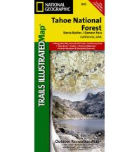 Wanderkarten Nord- und Mittelamerika 805 National Geographic Map USA - Tahoe National Forest East 1:63.360 Trails Illustrated