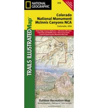 Straßenkarten Nord- und Mittelamerika Trails Illustrated Wanderkarte 208, National Monument/McInnis Canyons NCA 1:70.000 Trails Illustrated