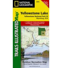 Wanderkarten Nord- und Mittelamerika Trails Illustrated Wanderkarte 305, Yellowstone Lake 1:70.000 Trails Illustrated
