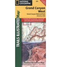 Wanderkarten Nord- und Mittelamerika Grand Canyon West Trails Illustrated