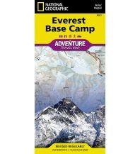 Wanderkarten Himalaya Everest Base Camp National Geographic Society Maps