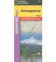 Wanderkarten Himalaya Annapurna Trails Illustrated