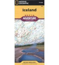 Straßenkarten Island Iceland National Geographic Society Maps