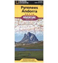 Straßenkarten Spanien Pyrenees, Andorra, France, Spain National Geographic Society Maps