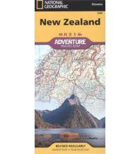 Straßenkarten Australien - Ozeanien New Zealand National Geographic Society Maps