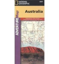 Straßenkarten Australien - Ozeanien Australia National Geographic Society Maps