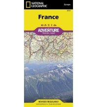 Straßenkarten Frankreich France National Geographic Society Maps