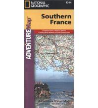 Straßenkarten Frankreich Southern France National Geographic Society Maps
