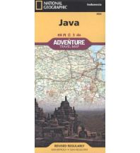 Straßenkarten Java National Geographic Society Maps