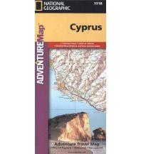 Straßenkarten Zypern Adventure Travel Map Cyprus 1:165.000 National Geographic Society Maps