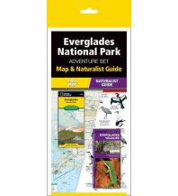 Wanderkarten USA Adventure Set Map & Naturalist Guide Everglades National Park Waterford press
