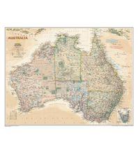 Australien - Ozeanien National Geographic Wandkarte Australien Australia Executive Laminated National Geographic Society Maps