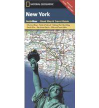 Straßenkarten New York National Geographic Society Maps