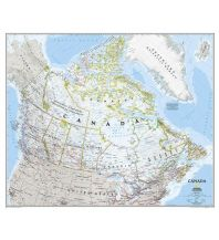Poster und Wandkarten National Geographic Wall Map - Canada laminated National Geographic Society Maps