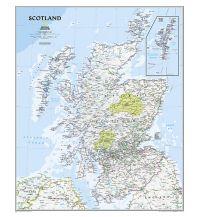 Poster und Wandkarten National Geograpic Wandkarte Schottland 1:650.000 National Geographic Society Maps