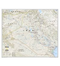 Poster und Wandkarten National Geographic Wall Map - Iraq laminated 1:1.778.000 National Geographic Society Maps