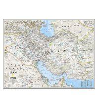 Poster und Wandkarten National Geographic Flat Map - Iran laminated National Geographic Society Maps