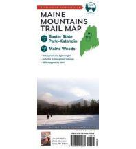 Wanderkarten USA Maine Mountains Trail Map 1:85.000 Appalachian Mountain Club Books