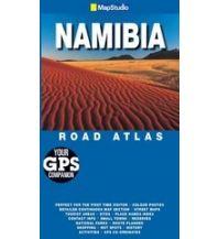 Straßenkarten Namibia MapStudio Road Atlas - Namibia    1:650.000 Map Studio