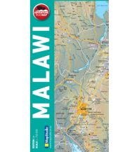 Straßenkarten Map Studio - Malawi 1:750.000 Map Studio