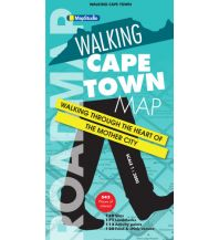Stadtpläne MapStudio Stadtplan Südafrika - Walking Map Cape Town / Kapstadt 1:3000 Map Studio