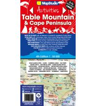 Straßenkarten Südafrika MapStudio Wanderkarte Table Mountain & Cape Peninsula 1:55.000 Map Studio