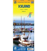 Straßenkarten Island ITMB Travel Map Iceland/Island 1:400.000 ITMB International Travel Maps