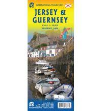 Straßenkarten Großbritannien ITMB Travel Map Jersey & Guernsey 1:18.000 ITMB International Travel Maps