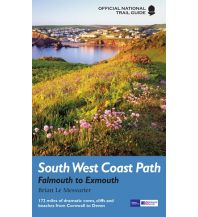 Wanderführer Official National Trail Guide - South West Coast Path - Falmouth to Exmouth Aurum Press