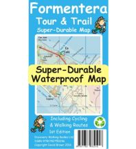 Wanderkarten Discovery Walking Guides Super-Durable Map Spanien - Formentera 1:25.000 Discovery Walking Guides Ltd.