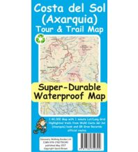Wanderkarten Spanien Discovery Tour & Trail Map Costa del Sol (Axarquia) 1:40.000 Discovery Walking Guides Ltd.