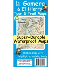 Discovery super-durable waterproof Map La Gomera & El Hierro 1:35.000 Discovery Walking Guides Ltd.