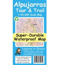 Discovery super-durable waterproof Map Alpujarras 1:40.000 Discovery Walking Guides Ltd.