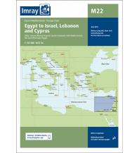 Seekarten Imray Seekarte M22 - Egypt to Israel, Lebanon and Cyprus 1:785.000 Imray, Laurie, Norie & Wilson Ltd.