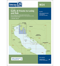 Seekarten Kroatien und Adria Imray Seekarte M24 - Golfo di Trieste to Lošinj and Rab 1:220.000 Imray, Laurie, Norie & Wilson Ltd.