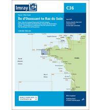 Seekarten Imray Seekarte Chart C36 Frankreich- Île d'Ouessant to Raz de Seine 1:80.000 Imray, Laurie, Norie & Wilson Ltd.