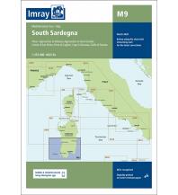Seekarten Italien Imray Chart M9, South Sardegna (Sardinien) 1:255.000 Imray, Laurie, Norie & Wilson Ltd.
