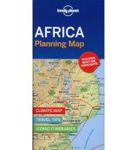 Straßenkarten Lonely Planet Planning Map - Africa Lonely Planet Publications