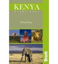 Reiseführer Bradt Guide - Kenya Highlights Bradt Publications UK