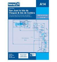 Imray Seekarten Karibik Imray Seekarte – A14 San Juan to Isla de Vieques and Isla Culebra 1:116.700 Imray, Laurie, Norie & Wilson Ltd.