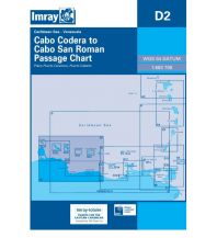 Seekarten Imray Seekarte D2 - Cabo Codera to Cabo San Roman 1:583.700 Imray, Laurie, Norie & Wilson Ltd.