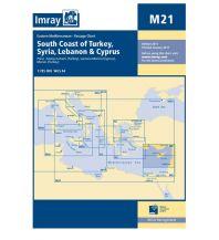 Seekarten Türkei und Naher Osten Imray Seekarte M21 - South Coast of Turkey, Syria, Lebanon and Cyprus 1:785.000 Imray, Laurie, Norie & Wilson Ltd.