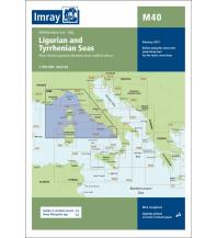Seekarten Italien Imray Seekarte Italien/Frankreich M40 - Ligurian and Tyrrhenian Seas 1:950.000 Imray, Laurie, Norie & Wilson Ltd.