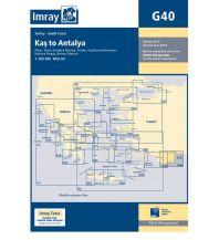 Seekarten Türkei und Naher Osten Imray Seekarte - G40 Kas to Antalya 1:200.000 Imray, Laurie, Norie & Wilson Ltd.