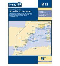 Seekarten Italien Imray Seekarte Frankreich M15 - Marseille to San Remo 1:325.000 Imray, Laurie, Norie & Wilson Ltd.